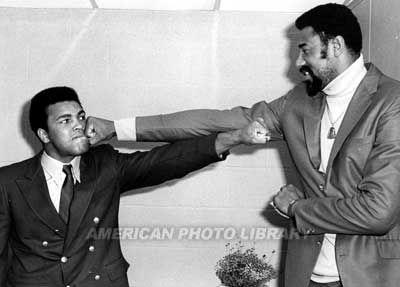 Mohammad Ali and Wilt Chamberlain