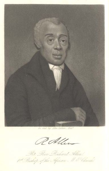 Richard Allen, Founder of the first African American Christian Church