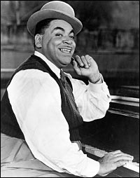 Fats Waller, Jazz Pianist, Organist, Composer, Singer and Comedic Entertainer
