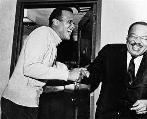 Harry Belafonte and Martin Luther King, Cracking up