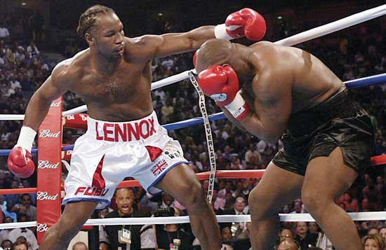 Lennox Lewis, Heavyweight Boxing Champion
