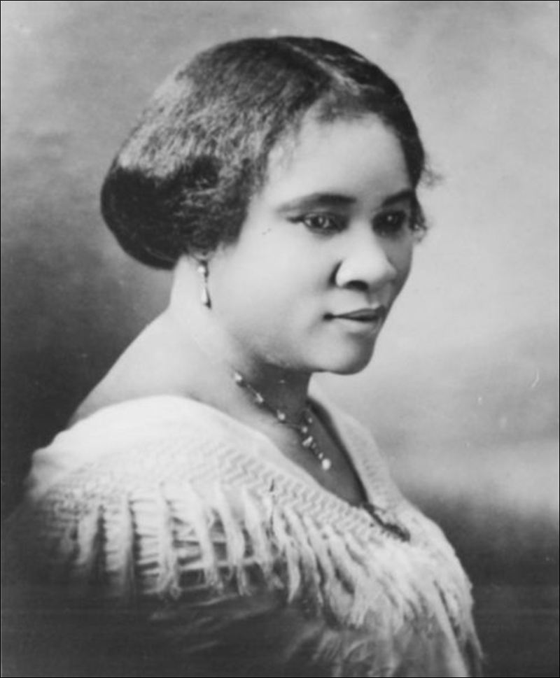 Madame C J Walker First Woman Self Made Millionaire
