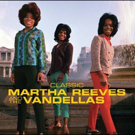 Motown's Martha Reeves and the Vandella's