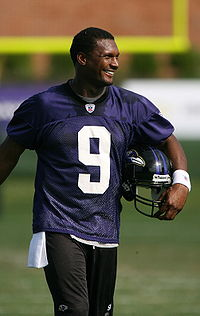 STEVE MCNAIR, CHOSEN AS ONE OF QUARTERBACKS OF ALL TIME