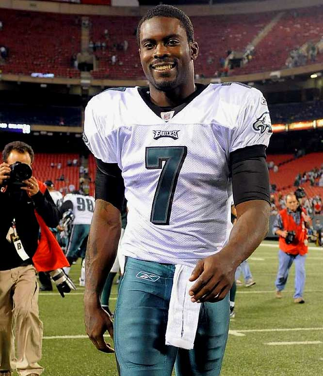 MICHAEL VICK - CHOSEN AS ONE OF THE TOP QB'S OF ALL TIME