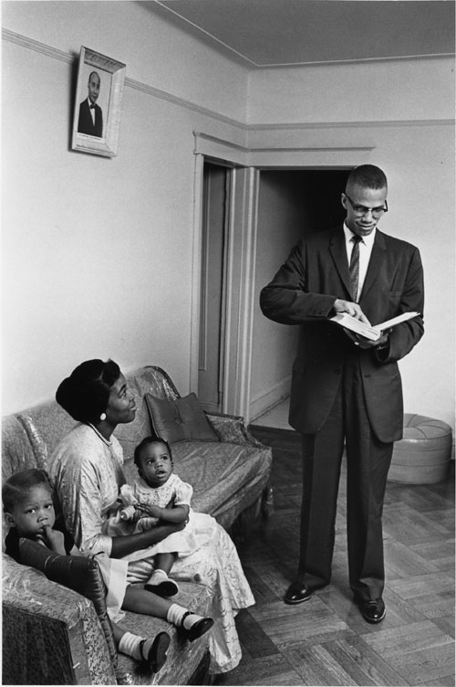 Malcolm X and Family