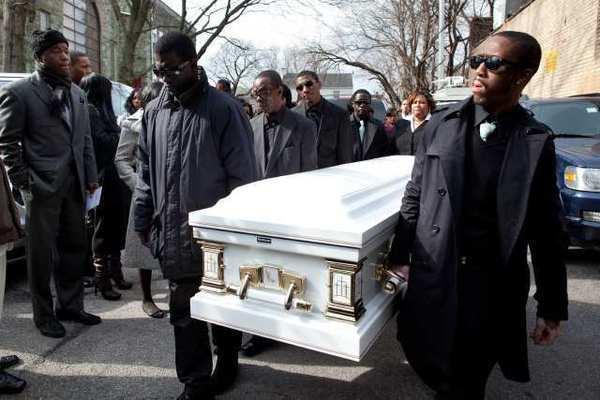 trayvon martin funeral - 600×400